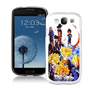 Unique And Lovely Designed Case For Samsung Galaxy S3 With Dragon Ball Z (2) White Phone Case