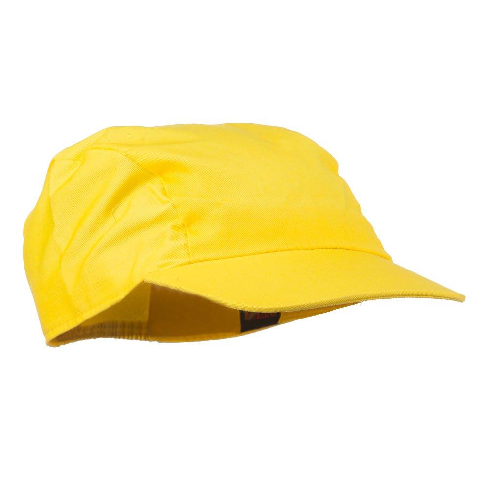 21d6f1a20ec 3 Panel Cotton Twill Sports Cap - Yellow OSFM at Amazon Men s Clothing  store