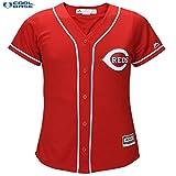 Cincinnati Reds MLB Women's Cool Base Alternate Jersey Red (Xlarge)