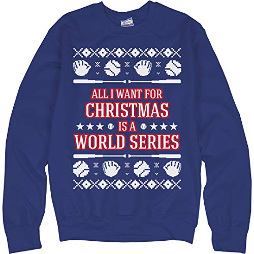- Customized Girl Baseball Ugly Sweater Chicago: Unisex Ultimate Crewneck Sweatshirt