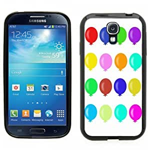 Pink Ladoo? Samsung Galaxy S4 Black Case - Balloons design. Craftsy colorful helium balloons.