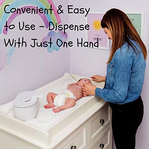 512feknMYGL - Wipes Warmer For Babies | Baby Wipe Warmer And Baby Wet Wipes Dispenser | Large Capacity & No Leakage!