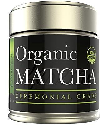 Ceremonial Matcha - Organic Matcha Green Tea Powder