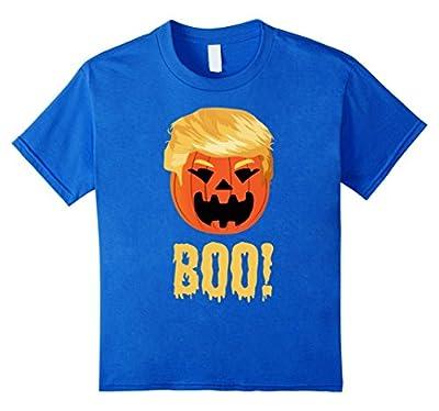 Funny Halloween Trumpkin BOO! Donald Trump Pumpkin T Shirt