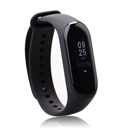 f4c373e1fd1 Xiaomi Mi Band 3 Fitness Tracker 0.78 OLED Display Heart Rate Monitor 50M  Waterproof Bracelet Pedometer