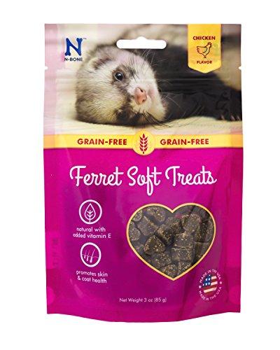 (N-Bone 1 Pouch Ferret Soft Treats Chicken Flavor, 3 Oz)