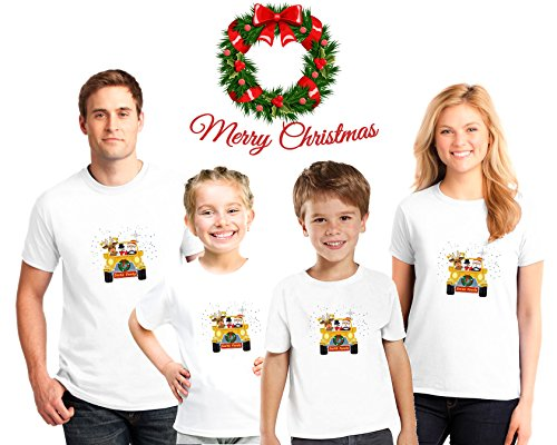 Personalized Ginger Cookie Family Christmas Pajama Matching Shirts,Family Christmas pajama tees, Kids Christmas shirts