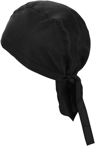 Chef Skull Cap or Sushi Bar Cap with Felt Top