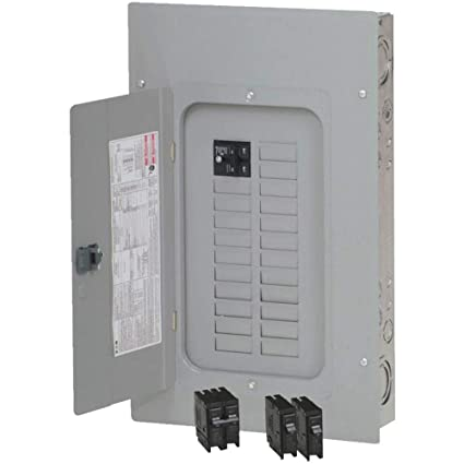 Eaton BRP20B100V25 Load Center, Indoor, Main Breaker ... on circuit board wiring, circuit box wiring, circuit panel breakers,