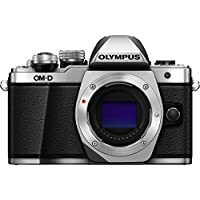 Olympus OM-D E-M10 Mark II Micro Four Thirds Digital Camera Body (Silver) Certified Refurbished