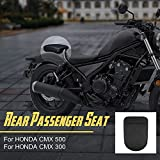 Motorcycle Black Rear Passenger Pillion Seat Cowl