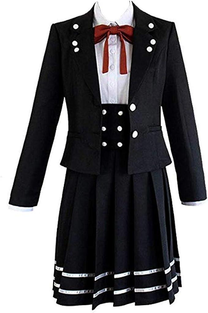 Danganronpa V3 Killing Harmony Shirogane Tsumugi Cosplay Costume School Uniform