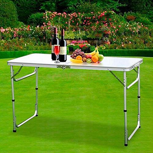 Aromdeeshopping 3FT L X 2FT W Folding Table Portable Outdoor Picnic Party Dining Camp Tables ()