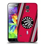 Official NBA Stripes Toronto Raptors Replacement Battery Cover for Samsung Galaxy S5 / S5 Neo