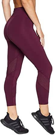 Rockwear Activewear Women's Ag Perforated Wrap Around Tight from Size 4-18 for Ankle Grazer High Bottoms Leggings + Yoga Pants+ Yoga Tights