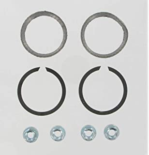 OCP Flat Pair Exhaust Gaskets replaces Vance /& Hines Exhaust Port Gasket Kit 22899