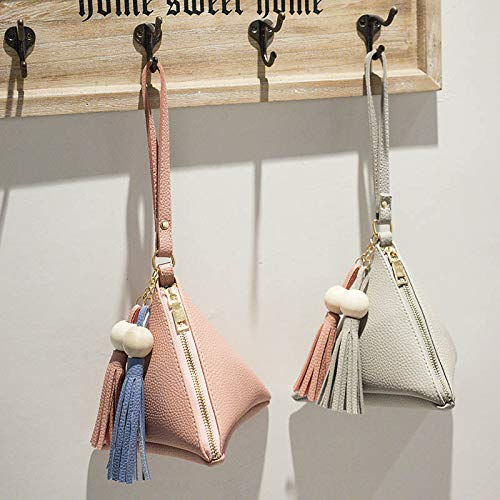 Amazon.com: Bolsas de embrague con forma de triángulo para ...
