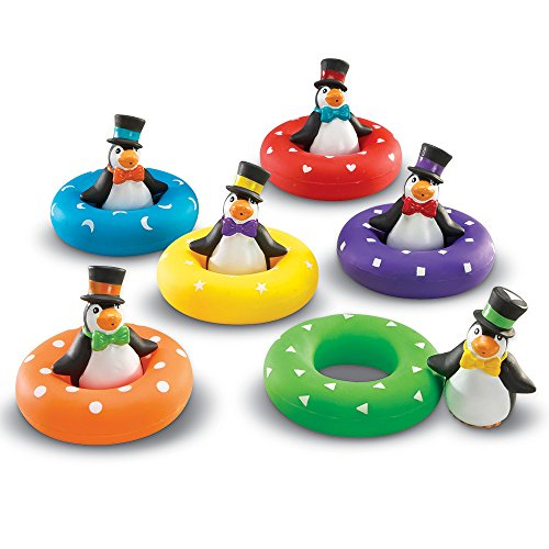 Learning Resources Color Play Penguins, 12 Pieces