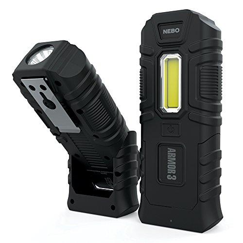 Armor3 Flashlight - Indestructible Waterproof Floating Impact-resistant 360 Lumen Work Light