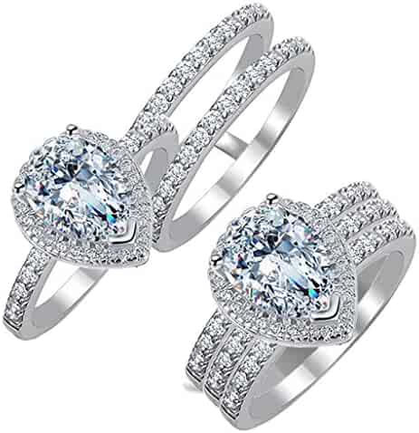 dce7ceac1c6c7 Shopping Under 5 - Other Metals - Bridal Sets - Wedding & Engagement ...