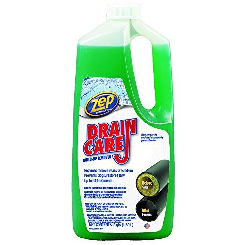 ZEP COMMERCIAL PRODUCTS ZLDC648 Zep Drain Care Liquid, 64 Oz by Zep