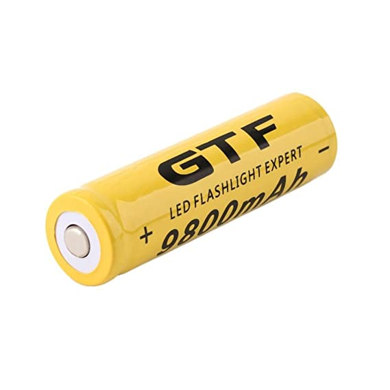 Review 18650 Battery 3.7V 9800mAh