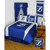 NHL Tampa Bay Lightning Hockey Team 4pc Twin Bedding Set