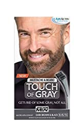 Just for Men Touch of Gray Mustache and ...
