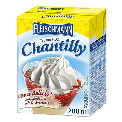 Fleischmann Crema Para Batir 7 05 Oz Fleischmann Creme De Chantilly 7 05 Oz Grocery Gourmet Food
