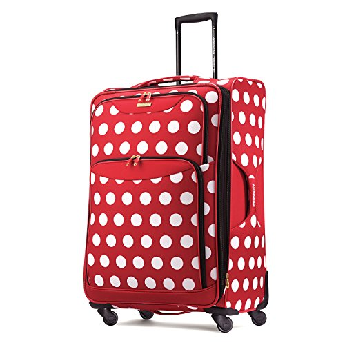 "Disney Minnie Mouse Polka Dot 28"" Spinner Suitcase by Americ"