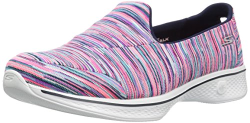 Skechers Womens Go Walk 4-merge Sneaker Multi