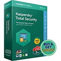 Kaspersky Total Security Latest Version-Multidevice- 2 Users, 3 Years (2 Individual Keys, 1 CD) (Special Edition) (CD)