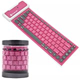 Best Keyboard Combo With Airs - Nacome Silicone Bluetooth Keyboard ,Bluetooth Wireless Waterproof Silicone Review