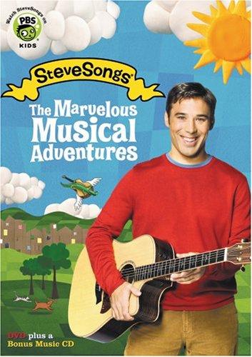 DVD : Steve Roslonek - The Marvelous Musical Adventures (Bonus CD)