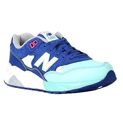 official photos 1bb8e a6ac8 New Balance 580 Big Kids (GS) Running Shoes KL580FYG, Blue ...