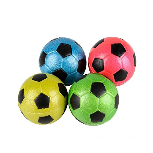 2.5'' Metallic Soccer Ball by Bargain World
