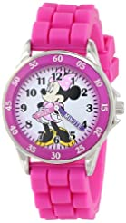 Minnie Mouse Kids' Analog Watch with Sil...