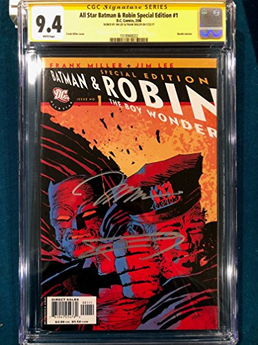 FRANK MILLER & JIM LEE SIGNED All Star Batman & Robin #1 CGC 9.4 Special Edition