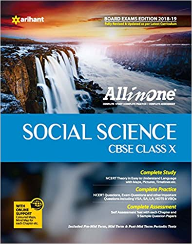 All In One Social Science - Class 10 (2018-19 Session) - by Madhumita