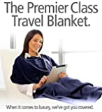 Travel Rest 4 in 1 Blanket & Travel Cushion, made from microfibre fabric – innovative, patented and cosy travel blanket and throw for travelling