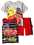 Disney Baby Boys' Cars 3 Piece Short Set