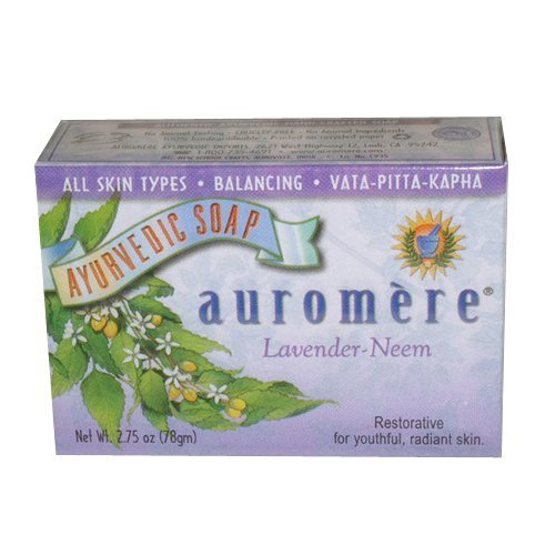 auromere-bar-soap-ayurvedic-lavender-neem-275-ounce-by-auromere