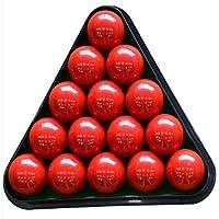 8 Ball Pool Mesa de Billar en rack rack Triángulo de plástico Tamaño Billar trípode estándar