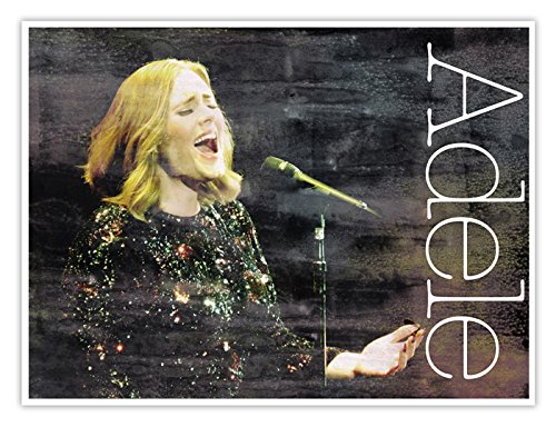 adele concert poster