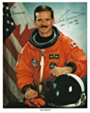 Chris Hadfield, Autographed/Hand signed 8x10 photo (Shuttle Astronaut, STS- 74, 100)