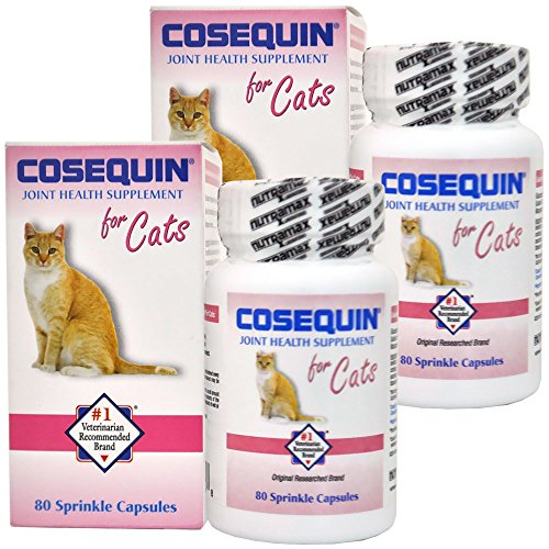 Cosequin For Cats - 2 PACK Cosequin for Cats 80 count (160 CAPSULES)