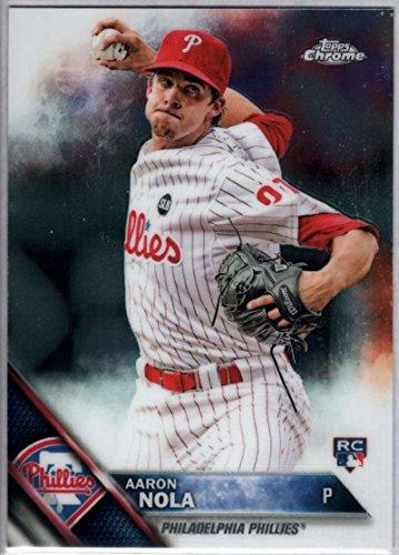 Baseball MLB 2016 Topps Chrome #114 Aaron Nola NM-MT RC Phillies