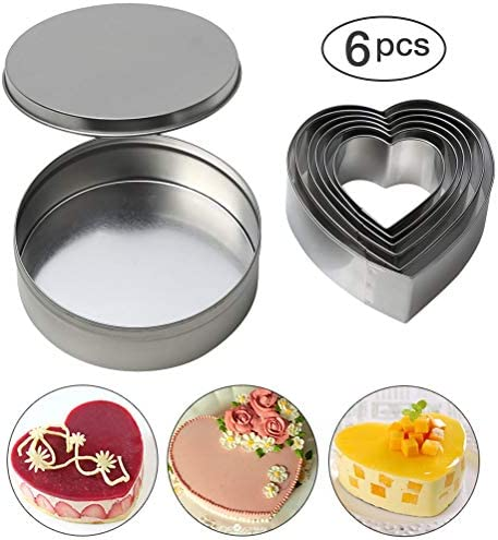 Biscuit Cutters Stainless Fondant Valentine product image