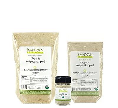 Banyan Botanicals Avipattikar Powder - Certified Organic - A traditional Ayurvedic formula for pitta imbalances in the GI tract*