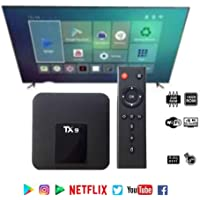 Smart Tv Box 4k Tx9 Android 2Gb RAM 16Gb Netflix Youtube
